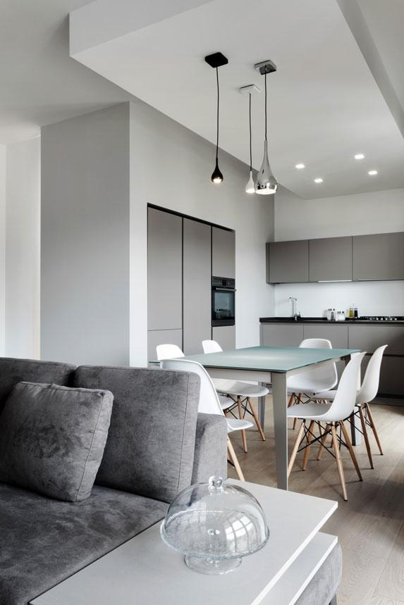 Ristrutturazione appartamento minimal genova rdm for Minimal architettura